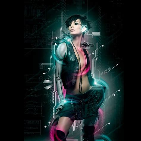 film hacker anime cyberpunk girl ipad wallpaper cyberpunk scifi