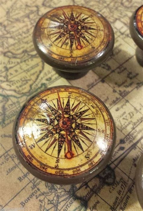 Nautical Drawer Pulls And Knobs by Details About Handmade Compass Birch Knob Drawer Pulls