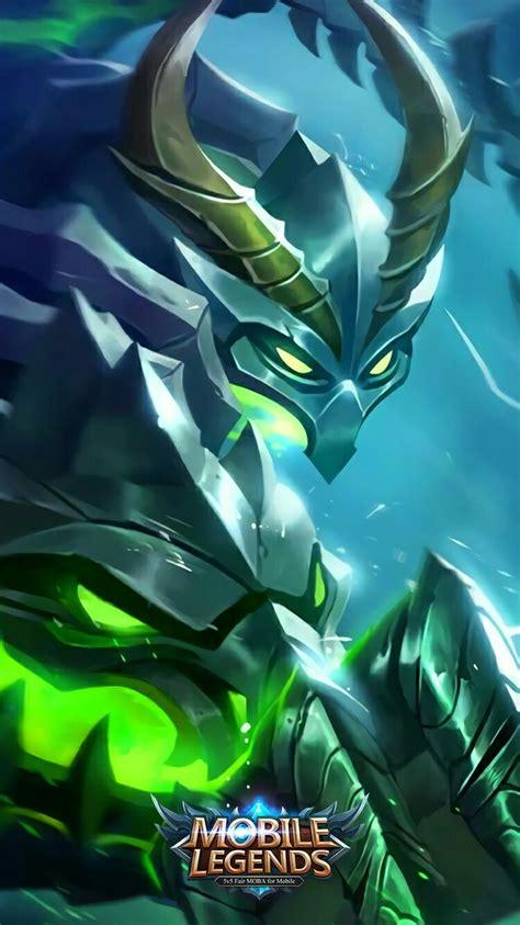 mobile legends moskov spear  bone dragon animasi
