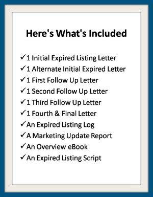 expired listing letter expired listing letters instant ready to use 1213