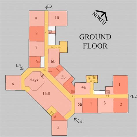 small school floor plans buildings ground floor plans