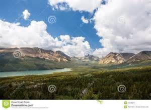 Landscape Photography Glacier National Park Glacier National Park Landscape Royalty Free Stock