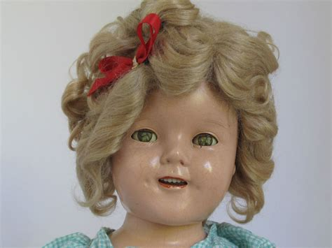 composition doll 18 quot 1930 s shirley temple composition doll ebay