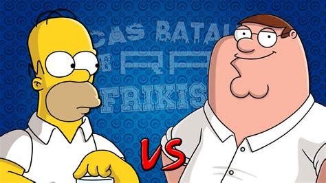 imagenes de epicas batallas de rap del friquismo homer simpson vs peter griffin 201 picas batallas de rap del