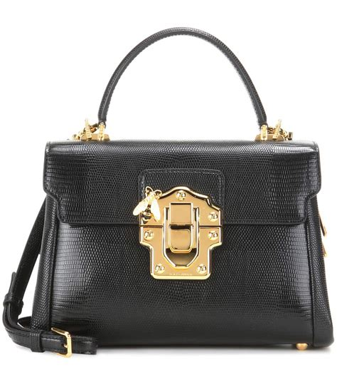 Dg Dolce And Gabbana Suzanne Satchel by Dolce Gabbana Lucia Embossed Leather Crossbody Bag