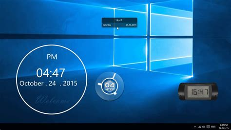 clock themes windows sense desktop best desktop clock for windows 10
