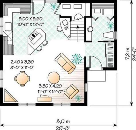 Main Floor Plan 24x26 Garage Apartment House Plans 20 X 26 House Plans