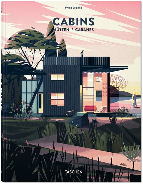 book cabins gorgeous cabin illustrations by laure cruschi 3d
