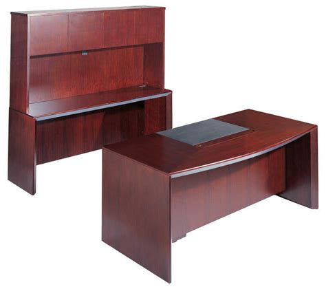 5pcs u shaped all wood executive office desk set leota ebay
