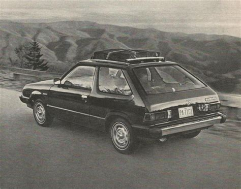 subaru hatchback 1980 hatch heaven 187 subaru
