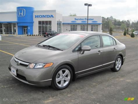honda civic 2008 ex l galaxy gray metallic 2008 honda civic ex l sedan exterior
