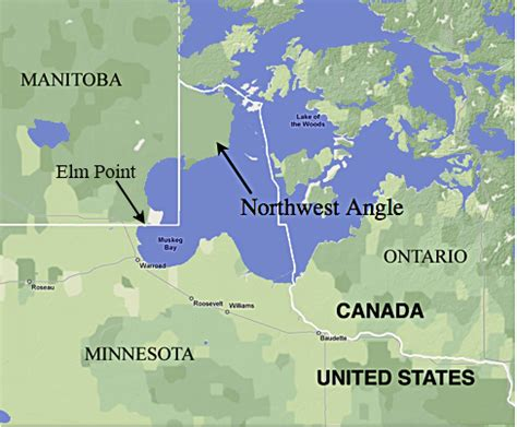 map of manitoba us border the story minnesota s weirdly shaped northern