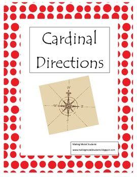 printable cardinal directions cardinal directions treasure hunt game printable by
