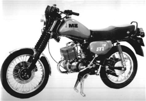 Mz Motorr Der Homepage by Etz 125 150