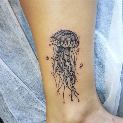 jellyfish tattoo design best 25 white ink tattoos ideas on white ink