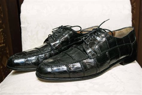crocodile shoes belvedere mens crocodile shoes at 1stdibs