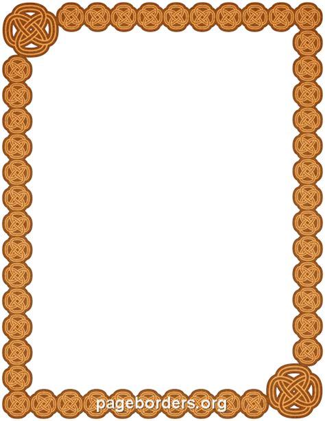 celtic border clip art page border  vector graphics
