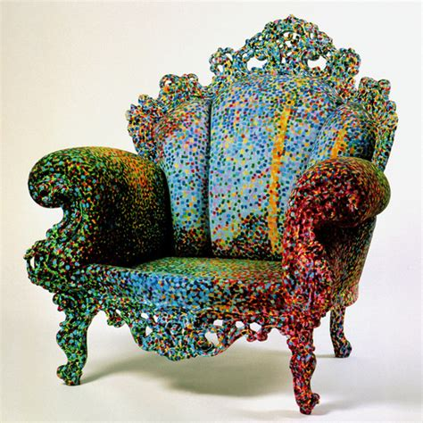 Alessandro Mendini Designs by Proust Chair Marble Masterpiece By Alessandro Mendini