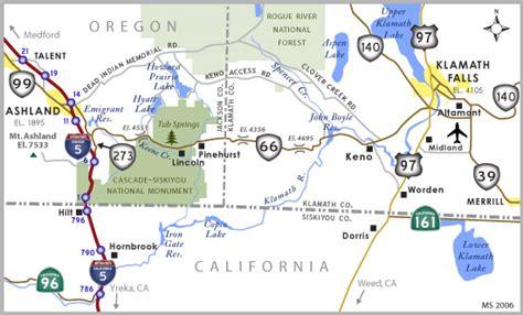 map of highway 97 oregon oregon aaroads oregon 66
