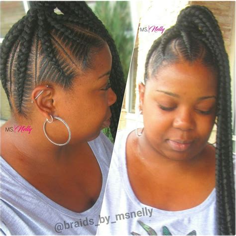 human hair ponytail with goddess braid 88 best braids by ms nelly images on pinterest braids twists and braid hairstyles