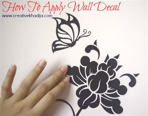 how to apply wall stickers how to apply sticker wall decal review