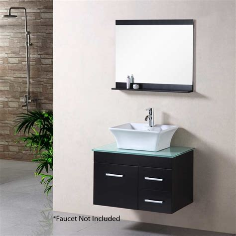 bathroom vanities portland design element 30 quot portland single vessel sink bathroom