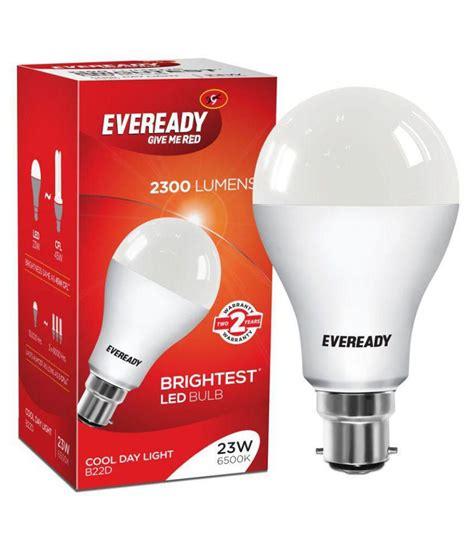 Eveready Led Light Bulbs Eveready Led Bulb 23w 6500k Buy Eveready Led Bulb 23w 6500k At Best Price In India On Snapdeal