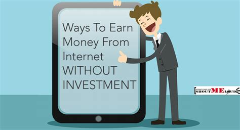 How To Make Money Online Investing - six free ways to earn money from internet without investment