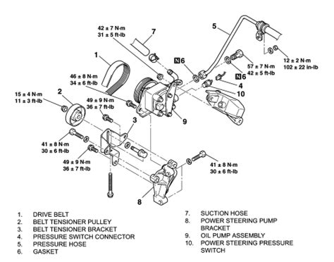 electric power steering 1999 ford econoline e350 parental controls repair guides power steering pump removal installation autozone com