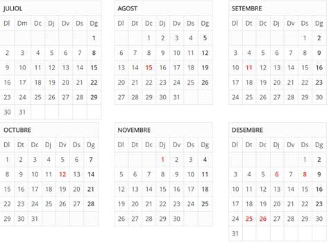 Calendario 2018 Catalunya El Calendario De Festivos En Catalunya Para El 2018