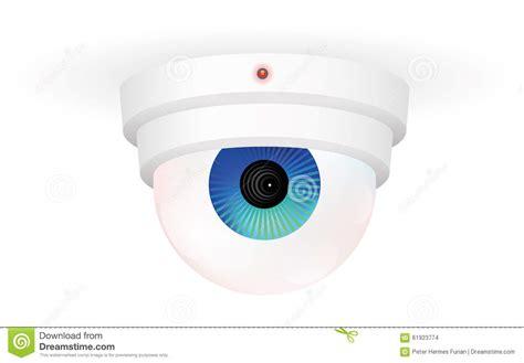 Cctv Eyespy cctv monitoring eye stock vector image 61923774