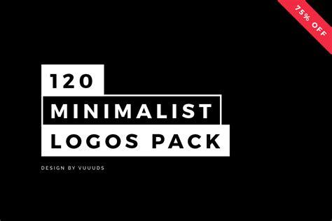 minimalistic logo 120 minimalist logos pack logo templates on creative market