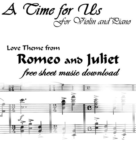 love theme from romeo and juliet notes a time for us sheet music by angelaabbott on deviantart