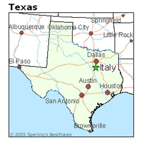 italy texas map best places to live in italy texas