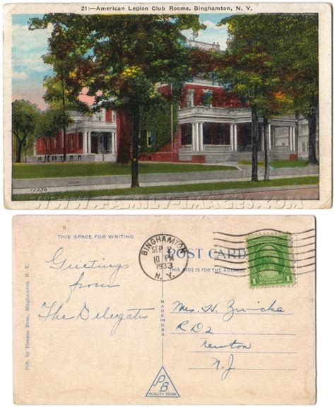 Baldwinsville Post Office by Family Images Historical Homepage New York Page