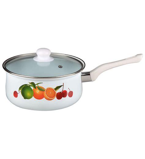 Moorlife Biochef Sauce Pan 20cm nolta regular enamel sauce pan with glass lid 20cm by