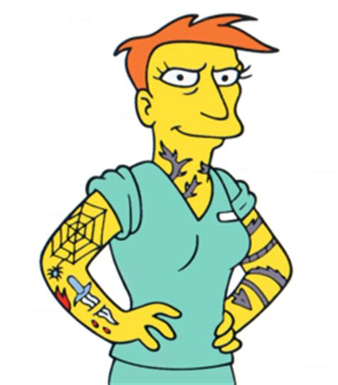 tattoo annie simpsons wiki fandom powered by wikia
