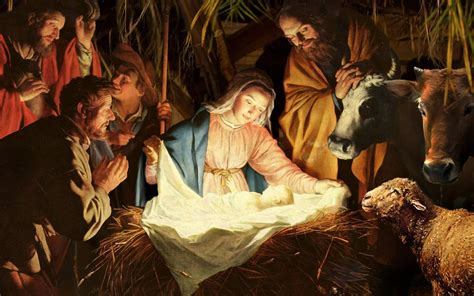 free christmas wallpapers of jesus in a manger baby jesus wallpapers wallpaper cave