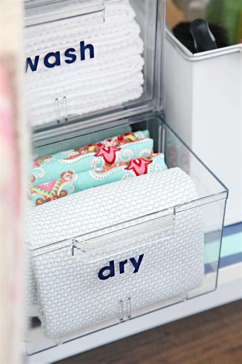 kitchen sink organizing ideas iheart organizing organizing the kitchen sink