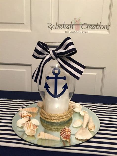 sailor themed centerpieces 1000 ideas about anchor centerpiece on nautical centerpiece nautical favors and
