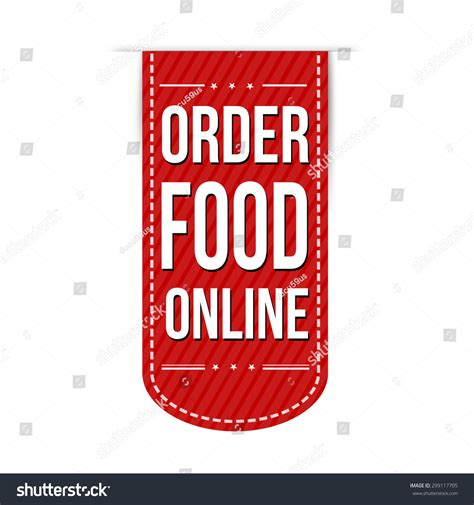 order food  banner design   white background