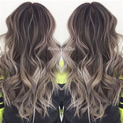 medium ash brown ombre hair color elle hairstyles best 25 ash blonde balayage ideas on pinterest ashy