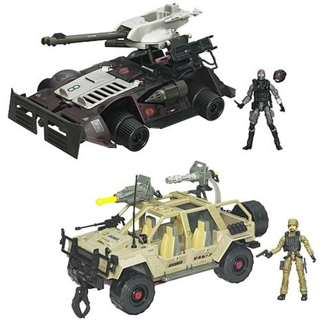 figure vehicles g i joe pursuit of cobra bravo vehicles wave 2 hasbro