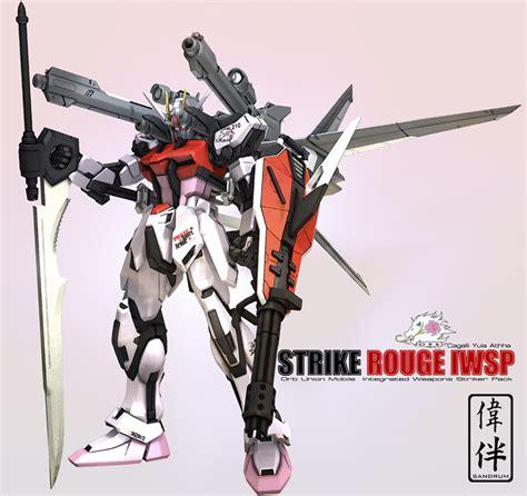 Nggm06 Gundam Strike I W S P 1 100 strike iwsp by sandrum on deviantart