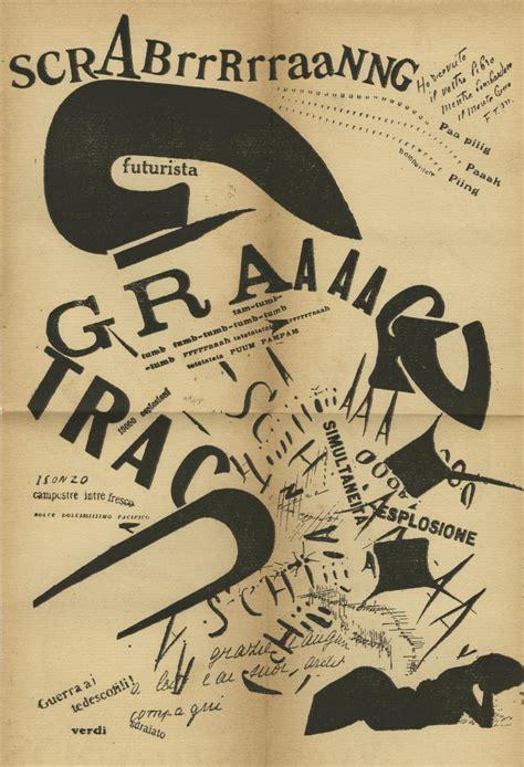 libro futurismus futurismo tipografico la pagina liberata