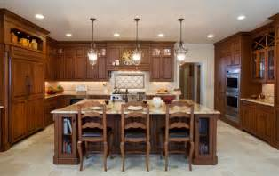High End Kitchen Islands Traditional Style High End Kitchen In Great Neck