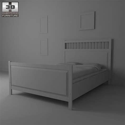ikea hemnes bed 2 3d model humster3d ikea hemnes bed 2 3d model humster3d