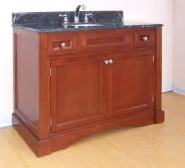 42 inch single sink bathroom vanity with choice of finish