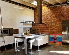 Industrial Home Interior Design by Renovated Loft With Industrial Interior Design Digsdigs