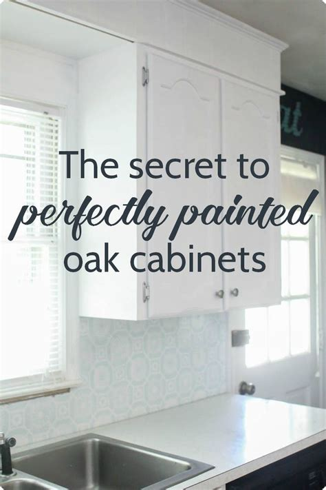 how to paint oak cabinets white without grain showing best 25 painted oak cabinets ideas on pinterest